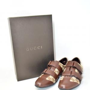 Scarpe Gucci Donna Originali Marroni Beige N.36.5