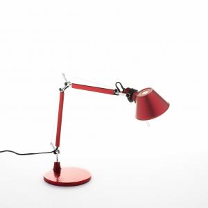 ARTEMIDE LAMPADA TOLOMEO MICRO ROSSO