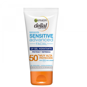 Delial Uv Moisturizing Gel Sensitive Advanced Ip50 50ml