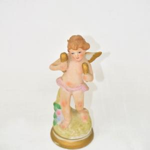 Statua Putto In Ceramica
