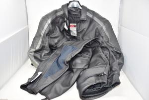 Giacca Moto Uomo Aprilia Nera Grigia Tg Xl ( solo giacca )