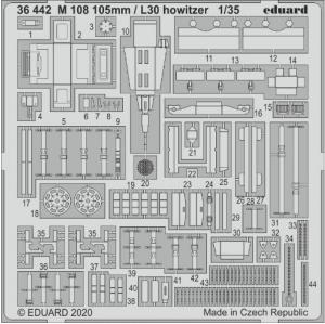 M108 105mm / L30 Howitzer