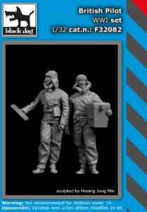 British pilots WWI set (2 fig.)
