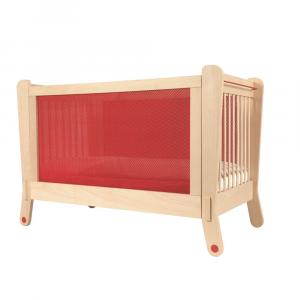 Lettino rosso con protezione elettromagnetica - Albero Bambino