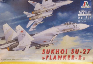 FLANKER-B SUKHOI SU-27