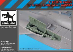 F-15 B/D canon
