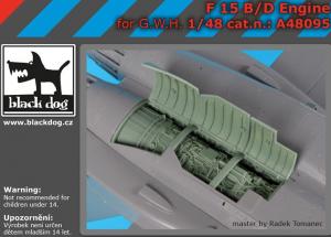 F-15 B/D engine