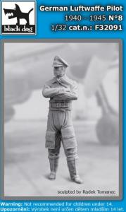 German Luftwaffe pilot N°8 1940-45