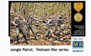 Jungle Patrol Vietnam War Series Mater Box MB3595