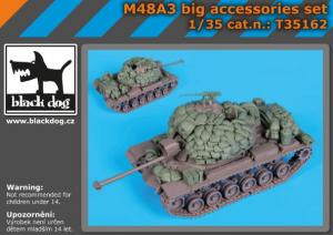 M48A3 BIG accessories set (DRAG)