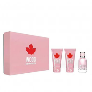 Dsquared2 Wood For Femme Eau De Toilette Spray 50ml Set 3 Parti 2020