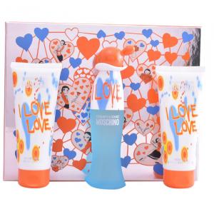 Moschino Cheap And Chic I Love Love Eau De Toilette Spray 50ml Set 3 Parti 2020