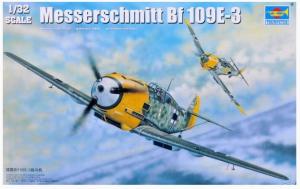 Messerschmitt Bf 109E-3 TRUMPETER 02288