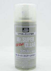 Mr Super Clear Varnish UV Cut Flat 170ml