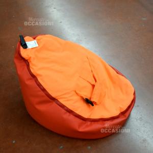 Doomoo Poltroncina sacco Seat Arancione Rosso