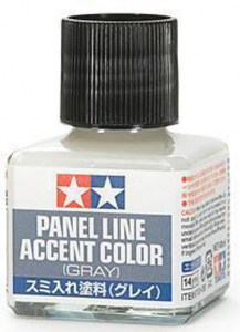 Panel Line Accent Color - Gray