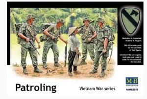Patroling Vietnam War series Master Box MB3599