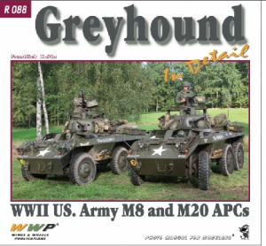 Publ. M8/20 Greyhound in detail