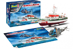 SAR 'Goodbye' DGzRS 'Berlin' (formally 'Arkona') and Westland Seaking Mk.41 Gift Set.
