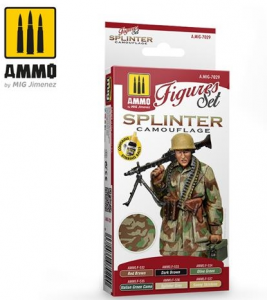 SET di colori per SPLINTER CAMOUFLAGE (6 colori 17ml)