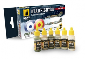 STARFIGHTER IN SPAIN and GREECE paint set