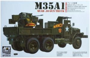 U.S. Army M35A1 Gun Truck AFVCLUB AF35034