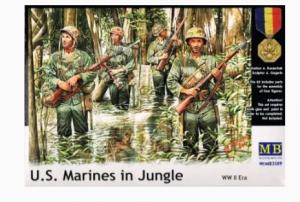 U.S. Marines in Jungle WW II Era Master Box MB3589
