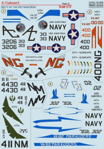 Vought A-7 Corsair II. Part 3
