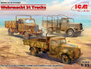 Wehrmacht 3t Trucks