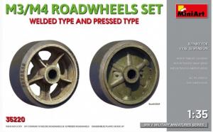Welded type and pressed type M3/M4 RoadWheels Set