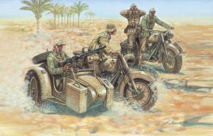 WWII GERMAN MOTORCYCLES B