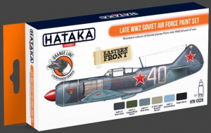 Late WW2 Soviet Air Force paint set