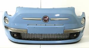 Paraurti Completo Di Faretti Fiat 500 Anno 2010 Originale