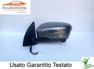 Specchietto Specchio Esterno SX Retrovisore Nissan Qashqai Anno 2018 Originale