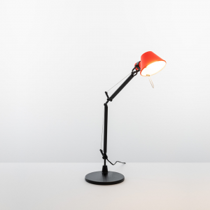 ARTEMIDE LAMPADA TOLOMEO MICRO BICOLOR NERO -ROSSO