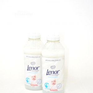 Ammorbidente Concentrato Lenor 650 ML Due Pezzi