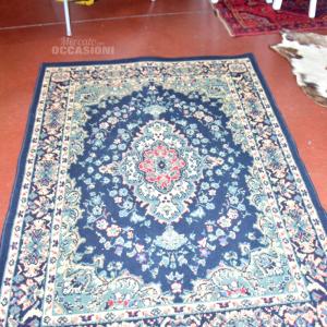 Tappeto Blu/beige 117x170cm