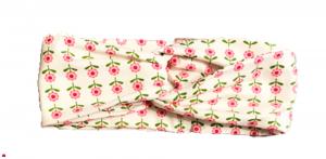 Fiori Rosa - Fascia Turbante