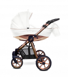 Baby Atelier - TRIO BABYACTIVE MOMMY GLOSSY ROSE GOLD - white