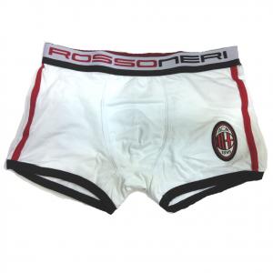 MILAN boxer uomo bianco in cotone varie taglie underwear prodotto ufficiale