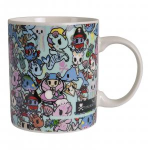 TOKIDOKI tipica tazza mug colazione Unicorno turchese ceramica 300ml in box rega