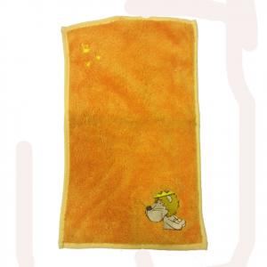 NICI ascigamanino piccolo arancione ricamato in morbido peluches 30x50cm