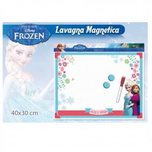 FROZEN ANNA E ELSA lavagna magnetica con pennarello cancellabile e magnetica