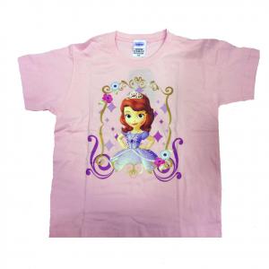 PRINCIPESSA SOFIA t-shirt maglietta rosa stampata taglia 7/8 anni da bambina