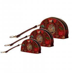 HARRY POTTER set 3 astucci Railway-trucchi,comodi per tenere in ordine la borsa