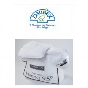 PIUMINO micro 95° doppio 4 stagioni 100%poliestere-microfibra antiacaro lavabile