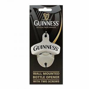 Apribottiglie da muro Guinness in acciaio
