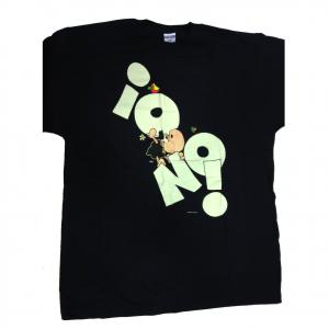 T-shirt umoristiche PECORA NERA 100% cotone blu IO NO