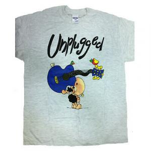 T-shirt umoristiche PECORA NERA 100% cotone grigia UNPLUGGED