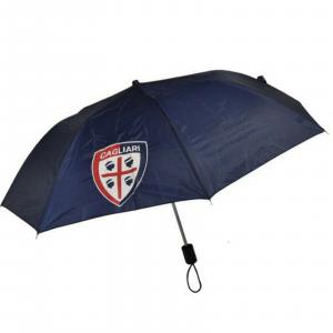 CAGLIARI CALCIO ombrello RICHIUDIBILE PRODOTTO UFFICIALE CON CREST STAMPATO